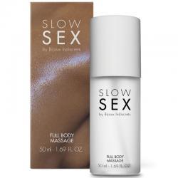 SLOW SEX FULL BODY MASSAGE GEL DE MASAJE 50 ML - Imagen 1