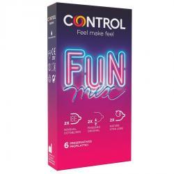 CONTROL FEEL FUN MIX  6 UDS - Imagen 1