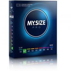 MY SIZE PRO PRESERVATIVOS 47 MM 3 UNIDADES - Imagen 1