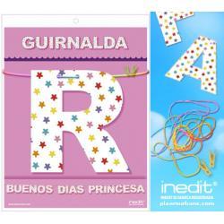 GUIRNALDA BUENOS DIAS PRINCESA (Cartulina 220gr) - Imagen 1