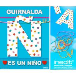 GUIRNALDA ES UN NIÑO (Cartulina 220gr) - Imagen 1