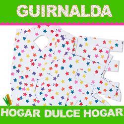 GUIRNALDA HOGAR DULCE HOGAR (Cartulina 220gr) - Imagen 1