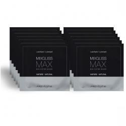 MIXGLISS MAX LUBRICANTE DILATADOR ANAL PACK 12 MONODOSIS 4ML - Imagen 1