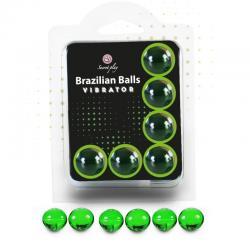 SECRETPLAY SET 6 BRAZILIAN BALLS VIBRATOR - Imagen 1