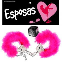 PACK ESPOSAS Y DADO POSTURAS ROSA - Imagen 1