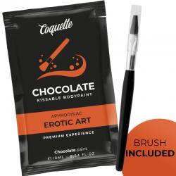 COQUETTE POCKET CHOCOLATE KISSABLE BODYPAINT 10 ML - Imagen 1