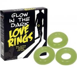 SPENCER AND FLEETWOOD - PACK 3 ANILLOS FLUORESCENTES - Imagen 1