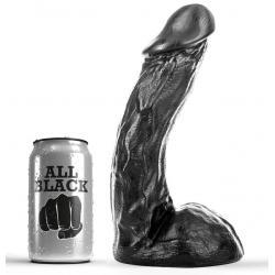 ALL BLACK DONG 23CM - Imagen 1