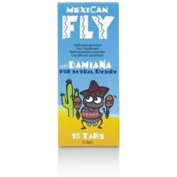 MEXICAN FLY CAPSULAS AFRODISIACAS 15 CAPS - Imagen 1