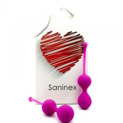 SANINEX BOLAS DOUBLE CLEVER LILA - Imagen 1