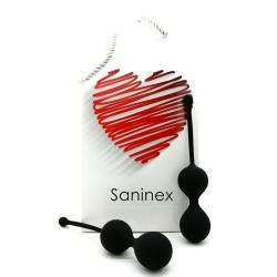 SANINEX BOLAS DOUBLE CLEVER NEGRO - Imagen 1