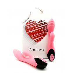SANINEX SWAN VIBRADOR ROSA - Imagen 1