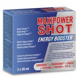 MAXIPOWER SHOT AUMENTO ENERGIA 3 X 20 ML - Imagen 1