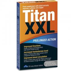 TITAN XXL PROLONGED ACTION 20 CAPSULAS - Imagen 1