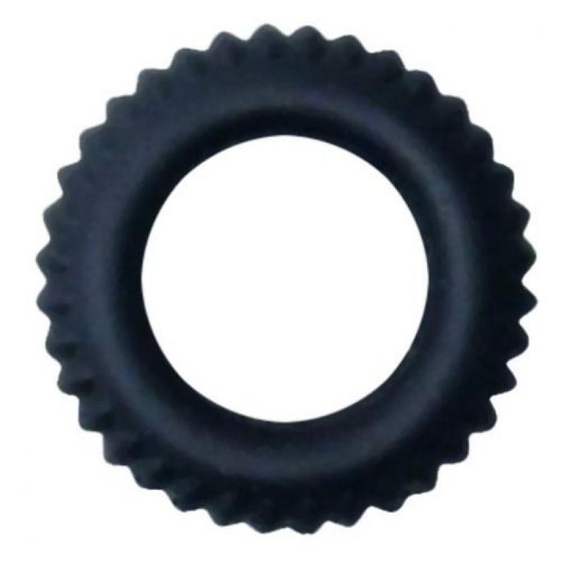 BAILE TITAN COCKRING BLACK 1.9CM - Imagen 1