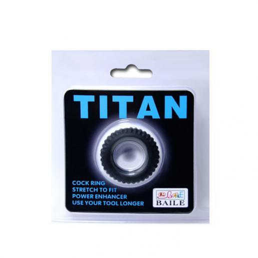 BAILE TITAN COCKRING BLACK 1.9CM - Imagen 5