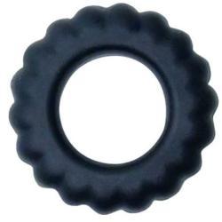BAILE TITAN COCKRING BLACK 2CM - Imagen 1
