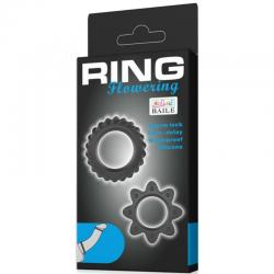 KIT 2 ANILLOS SILICONA RING FLOWERING - Imagen 6