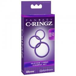 FANTASY C-RINGZ 3 ANILLAS SILICONA STAMINA S - Imagen 3