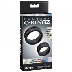 FANTASY C-RINGZ ANILLAS SILICONA MAX WIDHT - Imagen 4