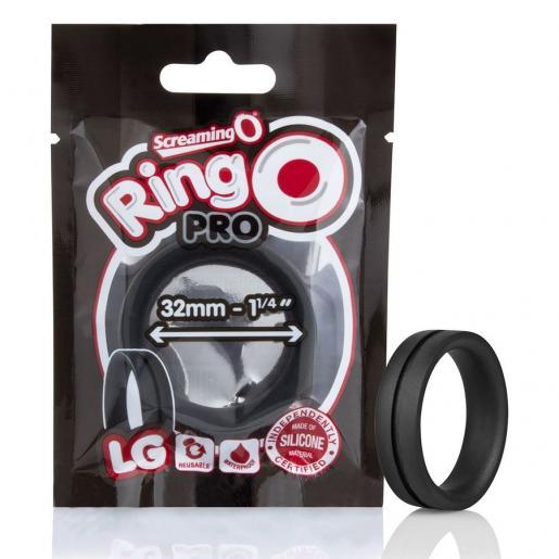 SCREAMING O  ANILLO POTENCIADOR RINGO PRO LG NEGRO 32MM - Imagen 5