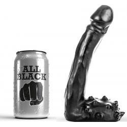 ALL BLACK DILDO REALISTICO 19CM - Imagen 1