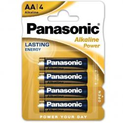 PANASONIC BRONZE PILA ALCALINA AA LR6 BLISTER*4 - Imagen 1