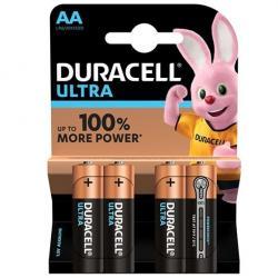 DURACELL ULTRA POWER PILA ALCALINA AA LR6 BLISTER*4 - Imagen 1