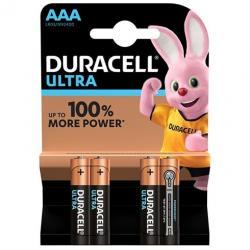 DURACELL ULTRA POWER PILA ALCALINA AAA LR03 BLISTER*4 - Imagen 1