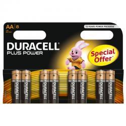 DURACELL PLUS POWER PILA ALCALINA AA LR6 BLISTER*8 - Imagen 1
