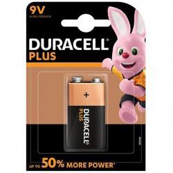 DURACELL PLUS POWER PILA ALCALINA 9V LR61 BLISTER*1 - Imagen 1