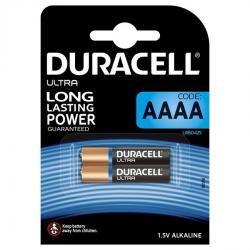 DURACELL ULTRA POWER PILA ALCALINA AAAA MX2500 1,5V BLISTER*2 - Imagen 1