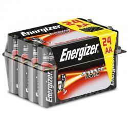 ENERGIZER ALKALINE POWER PILA ALCALINA AA LR6 PACK*24 - Imagen 1