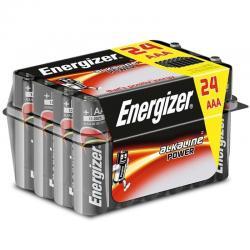 ENERGIZER ALKALINE POWER PILA ALCALINA AAA LR03 PACK*24 - Imagen 1