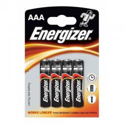 ENERGIZER ALKALINE POWER PILA ALCALINA AAA LR03 BLISTER*4 - Imagen 1