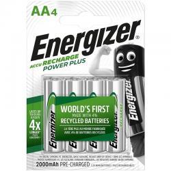 ENERGIZER PILAS RECARGABLES AA4 BLISTER 4 - Imagen 1