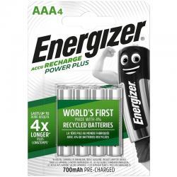 ENERGIZER PILAS RECARGABLES AAA4 BLISTER 4 - Imagen 1